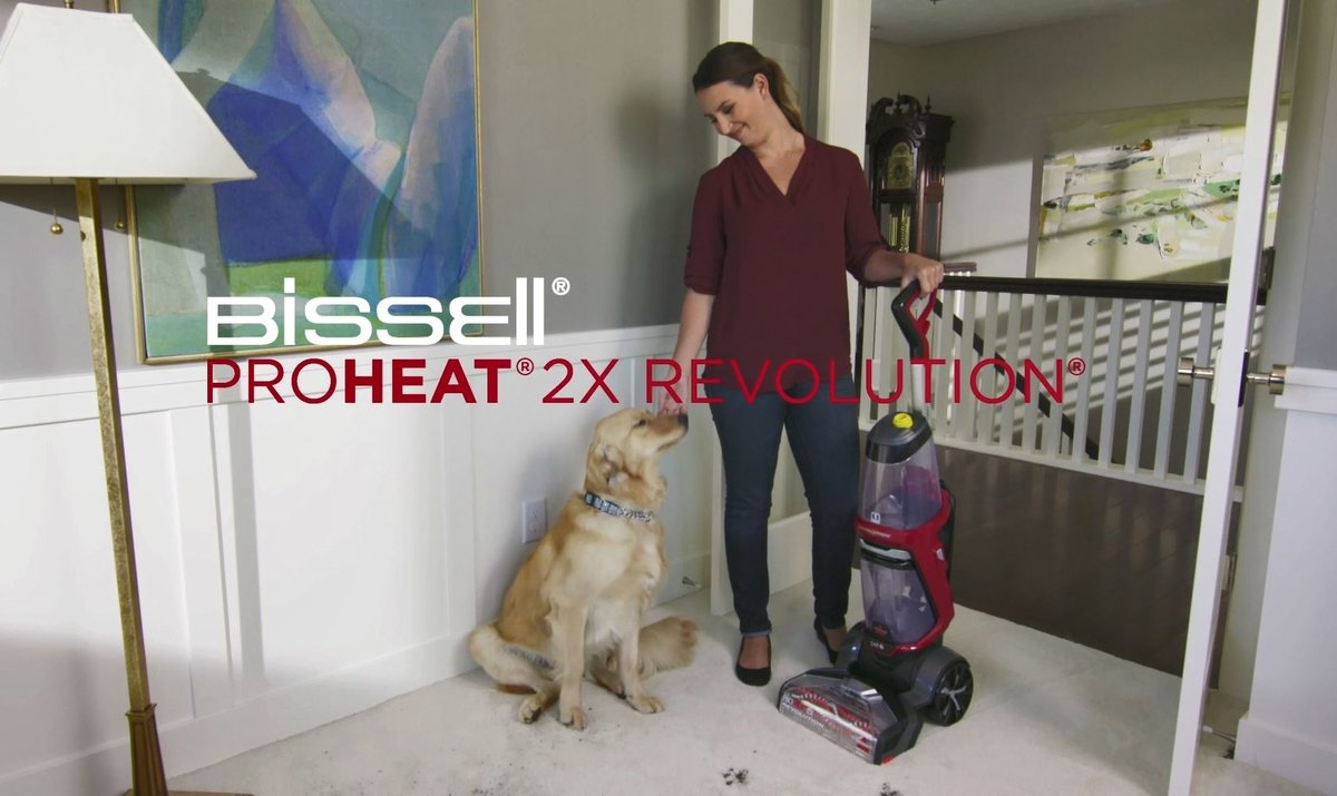 CHECK OUT THE BISSELL PROHEAT 2X REVOLUTION IN ACTION